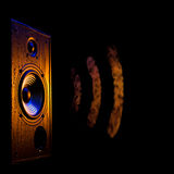 Audio speaker5 royalty free stock photos