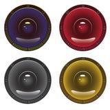 Audio speaker Royalty Free Stock Photos