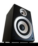 Audio speaker isolated Stock Image