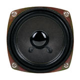 Audio speaker isolated on white Royalty Free Stock Photography
