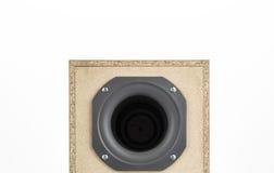 Audio speaker isolated on white Stock Photo