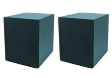 Audio speaker isolated Royalty Free Stock Photo