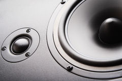 Audio speaker. The musical equipment Stock Images