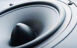 Audio speaker. The musical equipment Royalty Free Stock Photos