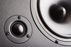 Audio speaker. The musical equipment Royalty Free Stock Image