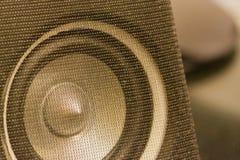audio-speaker-tweeter-on-desk Stock Images