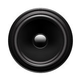 Audio speaker. Vector illustration of audio speaker isolated on white background Royalty Free Stock Images