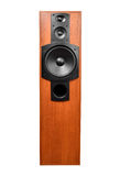 Audio speaker. On white background Stock Photo