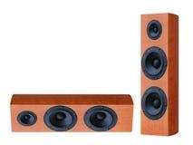 Audio speaker. On white background Royalty Free Stock Image