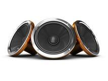 Audio speakers Stock Image