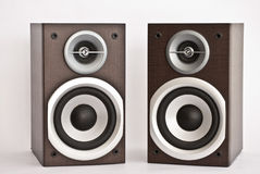 Audio speakers Royalty Free Stock Images