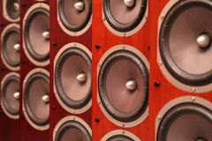 Audio speakers Stock Photography