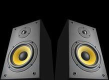 Audio speakers Royalty Free Stock Photo