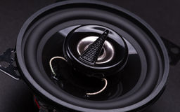Audio speakers Royalty Free Stock Image