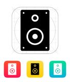 Audio speakers icon. Vector illustration Royalty Free Stock Photos