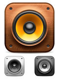 Audio speakers. Royalty Free Stock Images