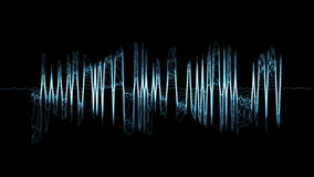 Audio spectrum Royalty Free Stock Photography