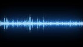 Audio spettro illustrazione di stock