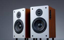 Audio sprekers royalty-vrije stock afbeeldingen
