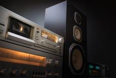 Audio stereo rack Stock Photography