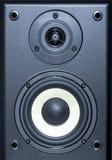 Audio strumentazione di sistema - vista alta vicina dell'altoparlante Fotografia Stock Libera da Diritti