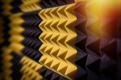Audio Studio Insulation sponge Stock Photography