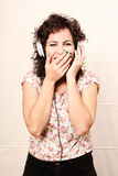 Audio Surprise Royalty Free Stock Images