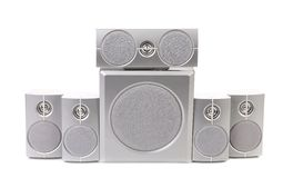 Audio surround system. Royalty Free Stock Images