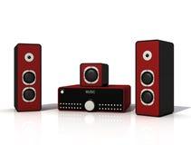 Audio systeem Royalty-vrije Stock Foto's