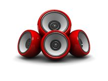Audio system Stock Photography
