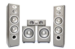 Audio system Royalty Free Stock Photos