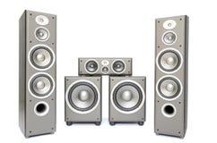 audio system Zdjęcia Royalty Free