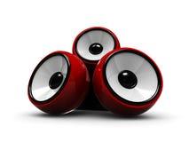 Audio system Royalty Free Stock Photos