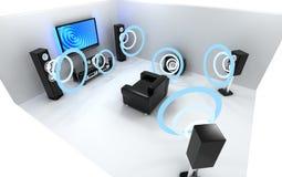 Audio system Royalty Free Stock Photo