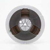 Audio Tape. Small professional audio tape reel Stock Photo