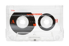 Audio tape Stock Image