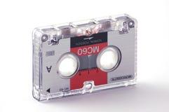 Audio tape. On white background Royalty Free Stock Photos