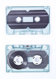 Audio tape. Close up of inside vintage audio tape vector illustration