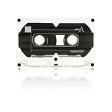 Audio Tape Cassette. Old audio tape cassette - side a Royalty Free Stock Photos