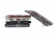 Audio tape cassette Royalty Free Stock Photo