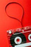 Audio tape cassette Stock Image