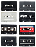 Audio tape collection Stock Photo