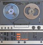 Audio tape recorder old construction Royalty Free Stock Photography