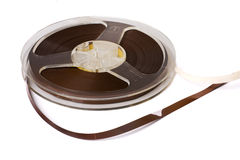 Audio tape reel Royalty Free Stock Photos