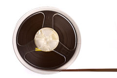 Audio tape reel Stock Image