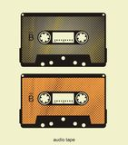Audio tape's illustration Stock Photos