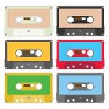 Audio tape set I Royalty Free Stock Photography
