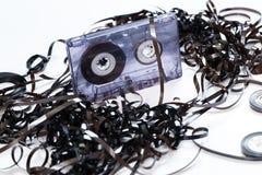 Audio tape Stock Photo