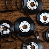Audio tape Royalty Free Stock Photography