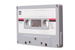 Audio Tape on white background Stock Image